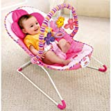 FisherPrice Pink Cozy Comfy Time Bouncer Picture