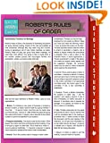 Robert's Rules Of Order (Speedy Study Guides)