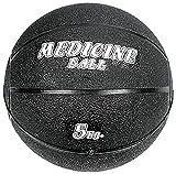 VIRTUOUS Unisex Rubber Medicine Ball 5000gm Black