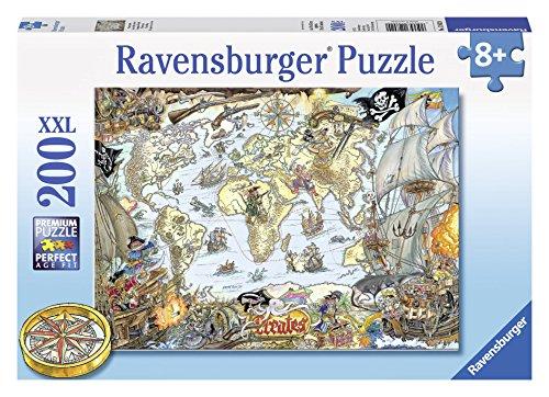 Ravensburger Pirate Map Puzzle (200 Piece)