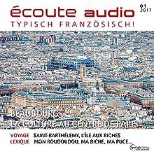 Écoute audio - Beaubourg, la culture au centre de Paris. 1/2017: Französisch lernen Audio - Das Centre Pompidou Hörbuch von  div. Gesprochen von:  div.
