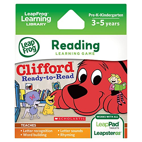 LeapFrog Scholastic: Clifford Learning Game for LeapPad Tablets and LeapsterGS - 1