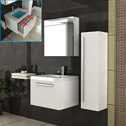 Mobili da bagno/mobili da bagno armadio/lavabo/bianco sottolavabo/Alto armadio/armadietto a specchio/set da bagno/komple ttprogram