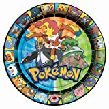 Image of Pokemon Dessert Plates 8ct