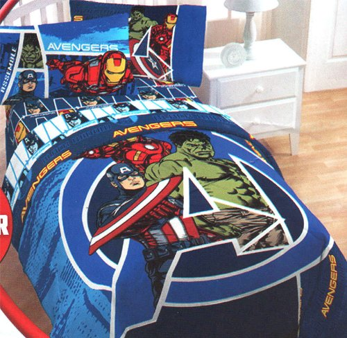 The Avengers Bedding Sets For Kids Groovy Kids Gear