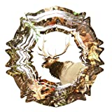 Iron Stop Mossy Oak Elk Wind Spinner