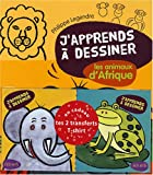 j apprends a dessiner les animaux d afrique + en cadeau te 2 transferts t-shirt