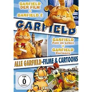 Garfield - Alle Garfield-Filme und Cartoons [8 DVDs]