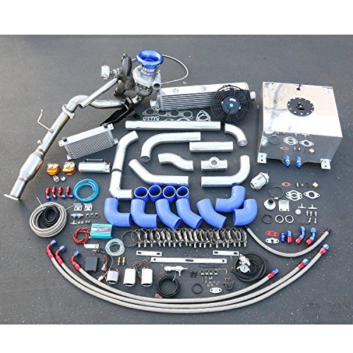 Honda Civic Si 2.0L High Performance 25pcs T04E Turbo Upgrade Installation Kit (Blow Off Valve For Honda Civic Si compare prices)
