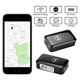 Dooreemee Free Mini Magnet GPS Tracker for Vehicle, Kids, Assets, Cars- Real-time Tracking Device with No Subscription fee (Color: black, Tamaño: Portable Type)
