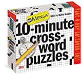 img - for Mensa 10-Minute Crossword Puzzles Page-A-Day Calendar 2017 book / textbook / text book
