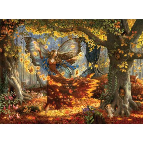 Cheap SunsOut Ruth Sanderson Woodland Fairy 1500pc Jigsaw Puzzle (B001YK1PUE)
