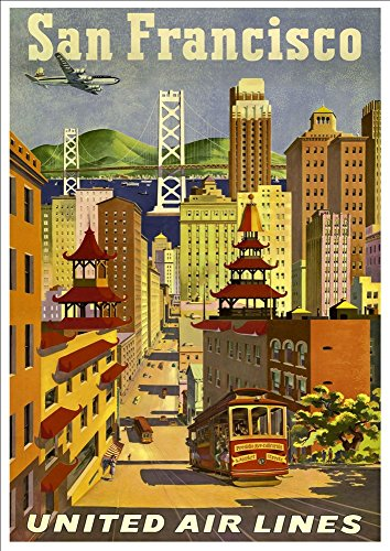 united-air-lines-san-francisco-wonderful-a4-glossy-art-print-taken-from-a-rare-vintage-travel-poster