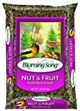 Morning Song Nut and Fruit Blend Wild Bird Food, 15-Pound