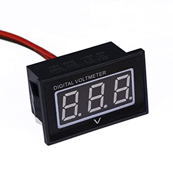 drok dc 2 7 30v tat de de la batterie voiture gauge auto moto m tre m tre de tension led. Black Bedroom Furniture Sets. Home Design Ideas