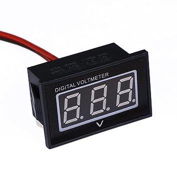 drok dc 2 7 30v tat de de la batterie voiture gauge auto moto m tre m tre de tension led. Black Bedroom Furniture Sets. Home Design Ideas