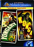 Yongary Monster From the Deep & Konga [Import USA Zone 1]