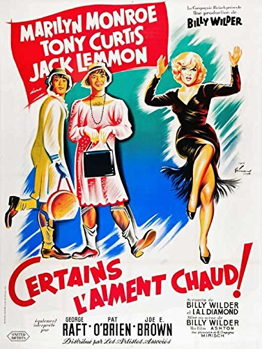 some-like-it-hot-poster-movie-french-b-11-x-17-inches-28cm-x-44cm-marilyn-monroe-tony-curtis-jack-le