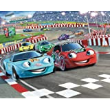 Walltastic Papier peint mural Voiture de course 2,4 m x 3 m (Import Grande Bretagne)par Walltastic Ltd