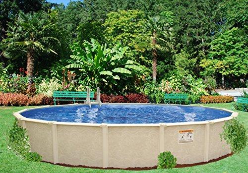 Interline 50001618 rund pool sunlake durchmesser 5 50m for Pool stahlwand erfahrung