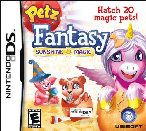Petz Fantasy: Sunshine Magic - Nintendo Ds front-339495