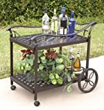 Bridgeton Moore Charleston Beverage Cart