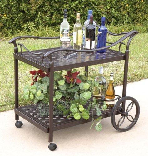 Bridgeton Moore Charleston Beverage Cart (Outdoor Patio Beverage Cart compare prices)