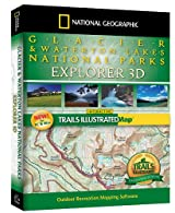 National Geographic Glacier & Waterton Lakes National Park Explorer