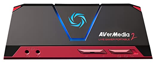 AVerMedia Live Gamer Portable 2 Full HD 1080p60 Recording Without PC Directly to SD Card Ultra Low Latency H.264 Hardware Encoding USB 2.0 High Definition Game Capture Record Stream Plug Play Party Ch at amazon