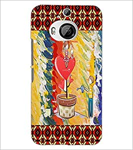 PrintDhaba Funny Image D-4600 Back Case Cover for HTC ONE M9 PLUS (Multi-Coloured)