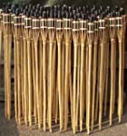 18 St�ck Gartenfackeln Bambus Fackel...