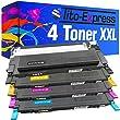 4 Tito-Express PlatinumSerie Toner XXL kompatibel f�r Samsung CLP-310