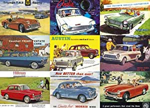 Gibsons Great British Cars jigsaw puzzle. (1000 pieces)