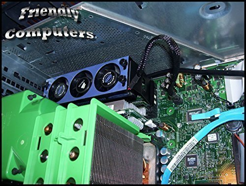 Dell Precision 470, 670, PowerEdge SC1420 Memory Ram fan, cooler for up to 16GB. Replaces WC417plus (Corsair Memory Fan compare prices)