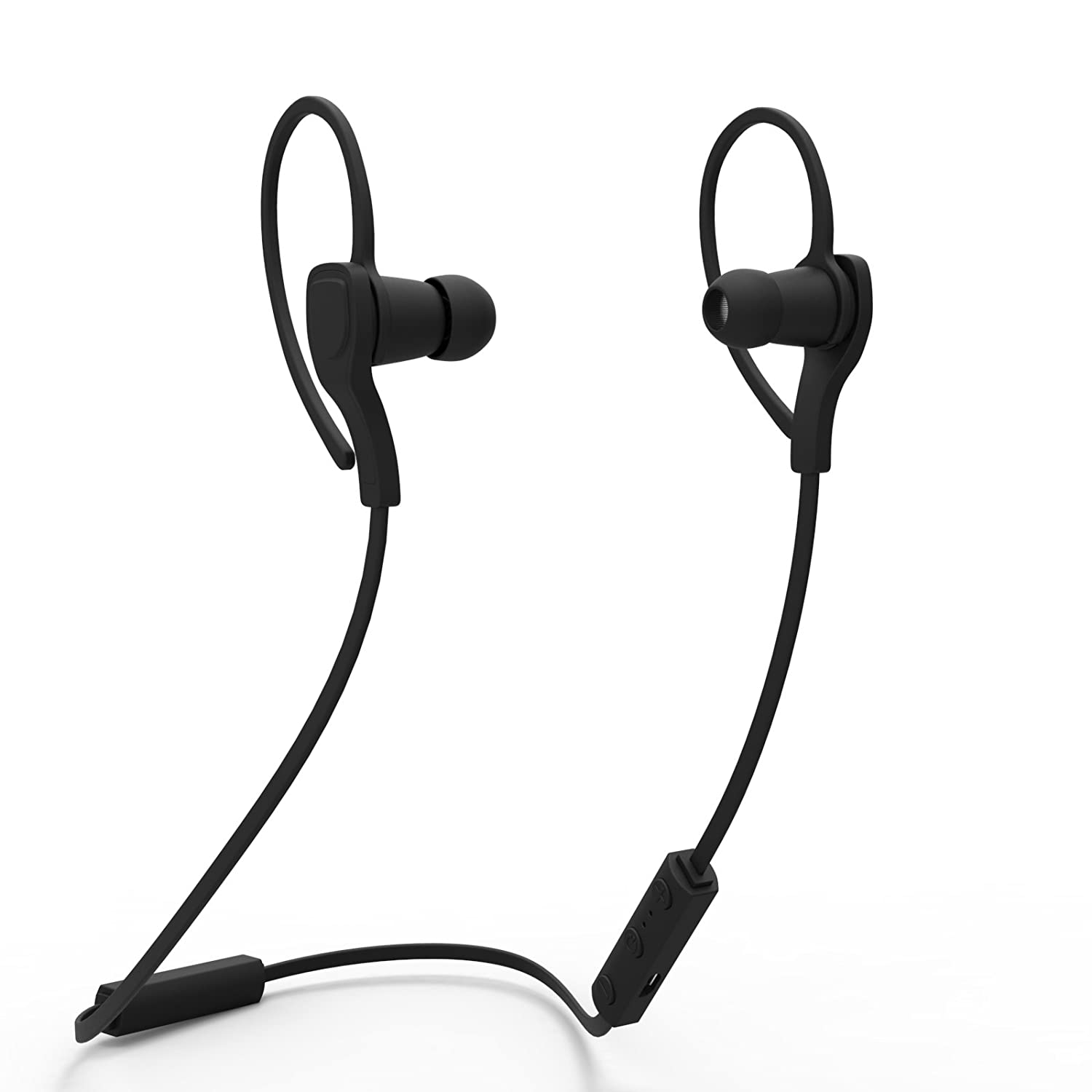 Bluetooth Headphones, HC Wireless Bluetooth Earbuds Headset Earphones with Micro Phone Noise Cancelling,Running, Exercise,Hiking Sports;Sweatproof. Suitable for IOS & Android Devices