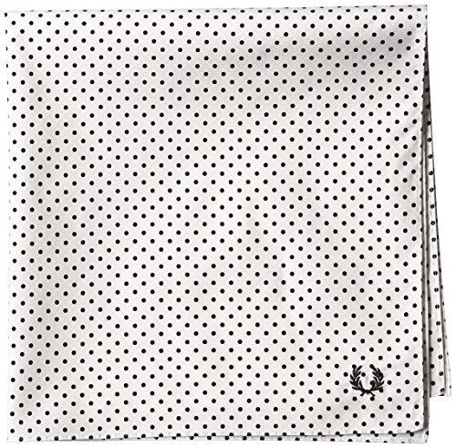 (フレッドペリー)FRED PERRY HANDKERCHIEF F9912 10 10WHITE(DOTS) F ハンカチ