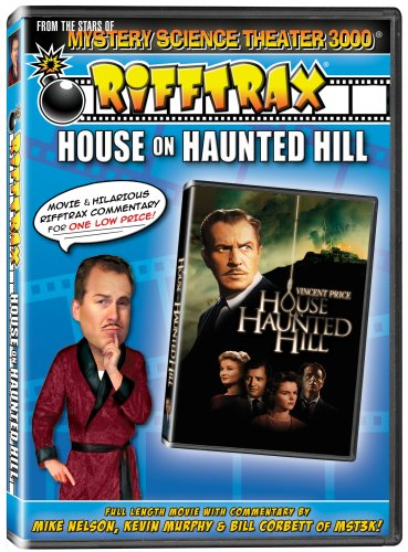 Rifftrax: House on Haunted Hill [DVD] [2009] [Region 1] [US Import] [NTSC]