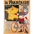c1925 FRENCH TOUR de FRANCE CYCLING 250gsm ART CARD Gloss A3 Reproduction Poster
