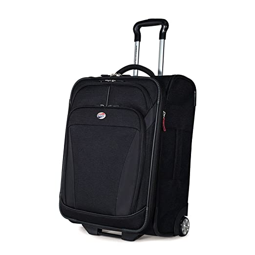 American Tourister Luggage Ilite Dlx 21 Inch Upright Bag