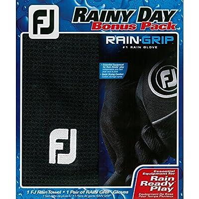 FootJoy Golf Rain-Ready Rain Grip Golf Glove Bonus Pack