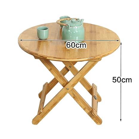 Ali Mesa de ocio plegable mesa cuadrada mesa de comedor mesa al aire libre tabla cuadrada simple