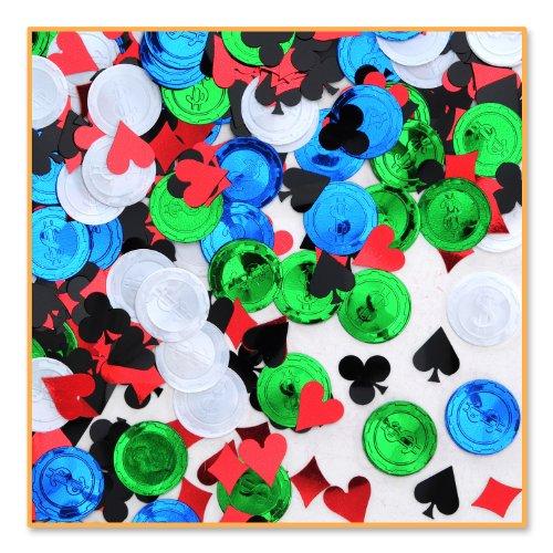 Beistle CN081 Poker Party Confetti (Costumes Vegas)