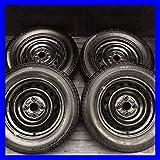 【中古スタッドレスタイヤ】【送料無料】4本セット ブリヂストン アイスパートナー 165/70R14  / トヨタ純正 スチールホイール 14x5.0  100-4穴  アクア・ヴィッツに! 中古タイヤ W14160726065