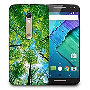 Snoogg Blossom Trees Printed Protective Phone Back Case Cover For Motorola X Style