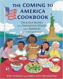 img - for The Coming to America Cookbook (Turtleback School & Library Binding Edition) book / textbook / text book