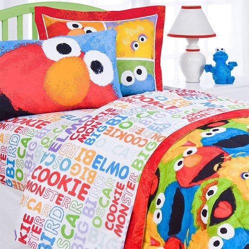 Sesame Street 4 Piece Sheet Set- Full front-962201