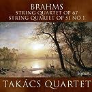 Johannes Brahms: Quatuors A Cordes