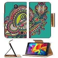 buy Samsung Galaxy Tab 4 7.0 Inch Flip Pu Leather Wallet Case Original Hand Draw Line Art Ornate Flower Design Ukrainian Traditional Style Image 32232423 By Msd Customized Premium