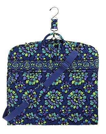 Amazon.com: Vera Bradley Garment Bag, Indigo Pop: Clothing