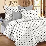Ahmedabad Cotton Comfort Cotton Single Bedsheet With 1 Pillow Cover